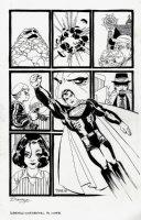 Superman: Kryptonite #1 Cover (2008) Comic Art