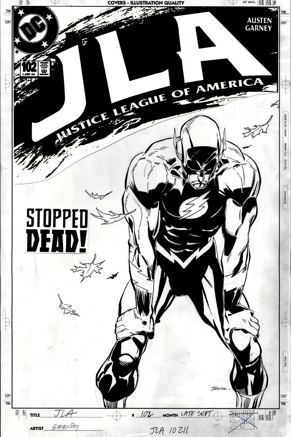 JLA #102 Cover (2004)