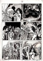 Vampirella #112 And #113 p 14 (1983) Comic Art