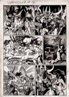 Vampirella #112 And #113 p 7 (1983) Comic Art