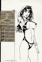 Vampirella #98 p 1 SPLASH (1981) Comic Art