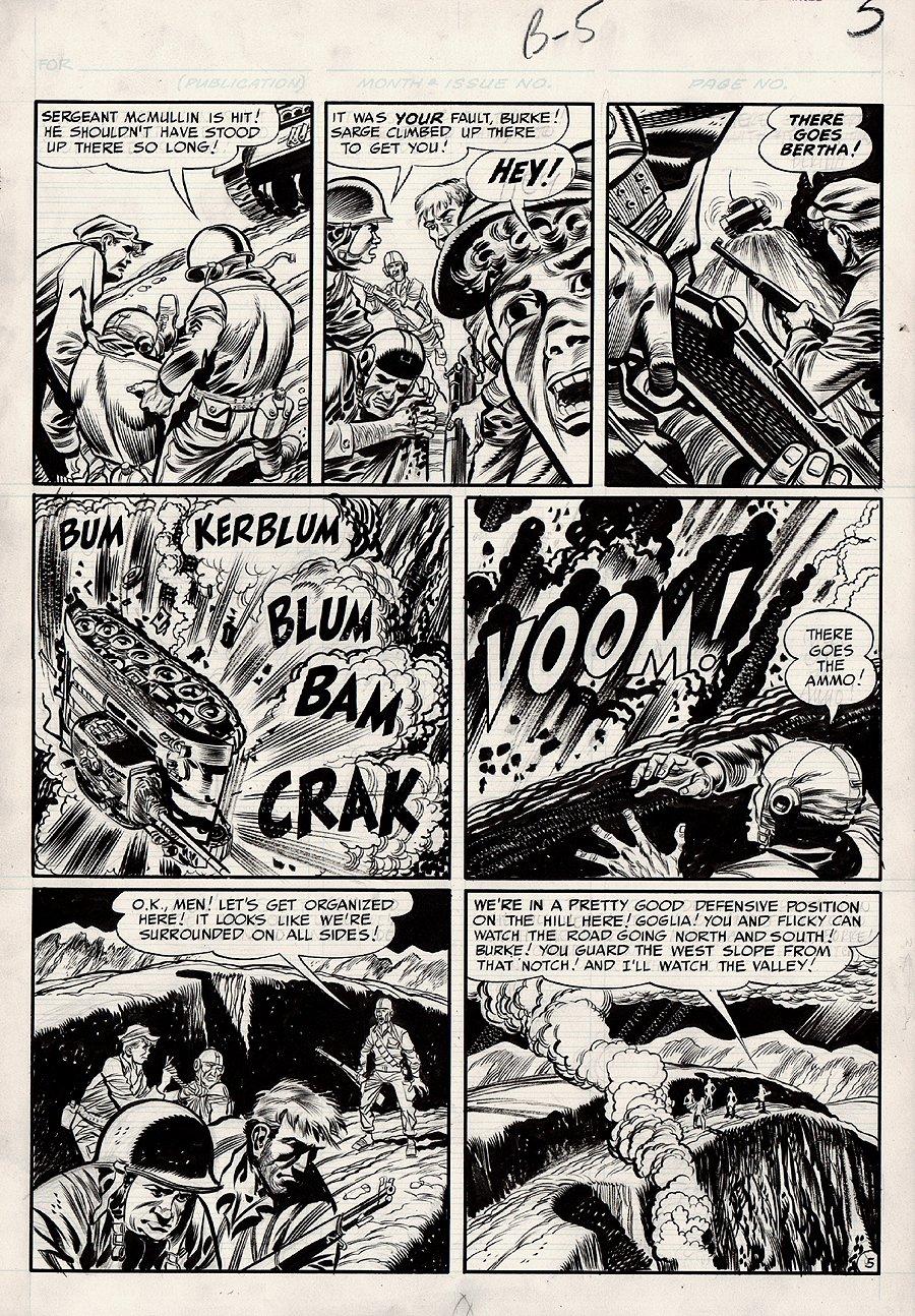 Frontline Combat #2  p 5 (Large Art) 1951