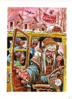 'A Tale From Camp Crypt' Front / Back Cover (Oversized) Comic Art