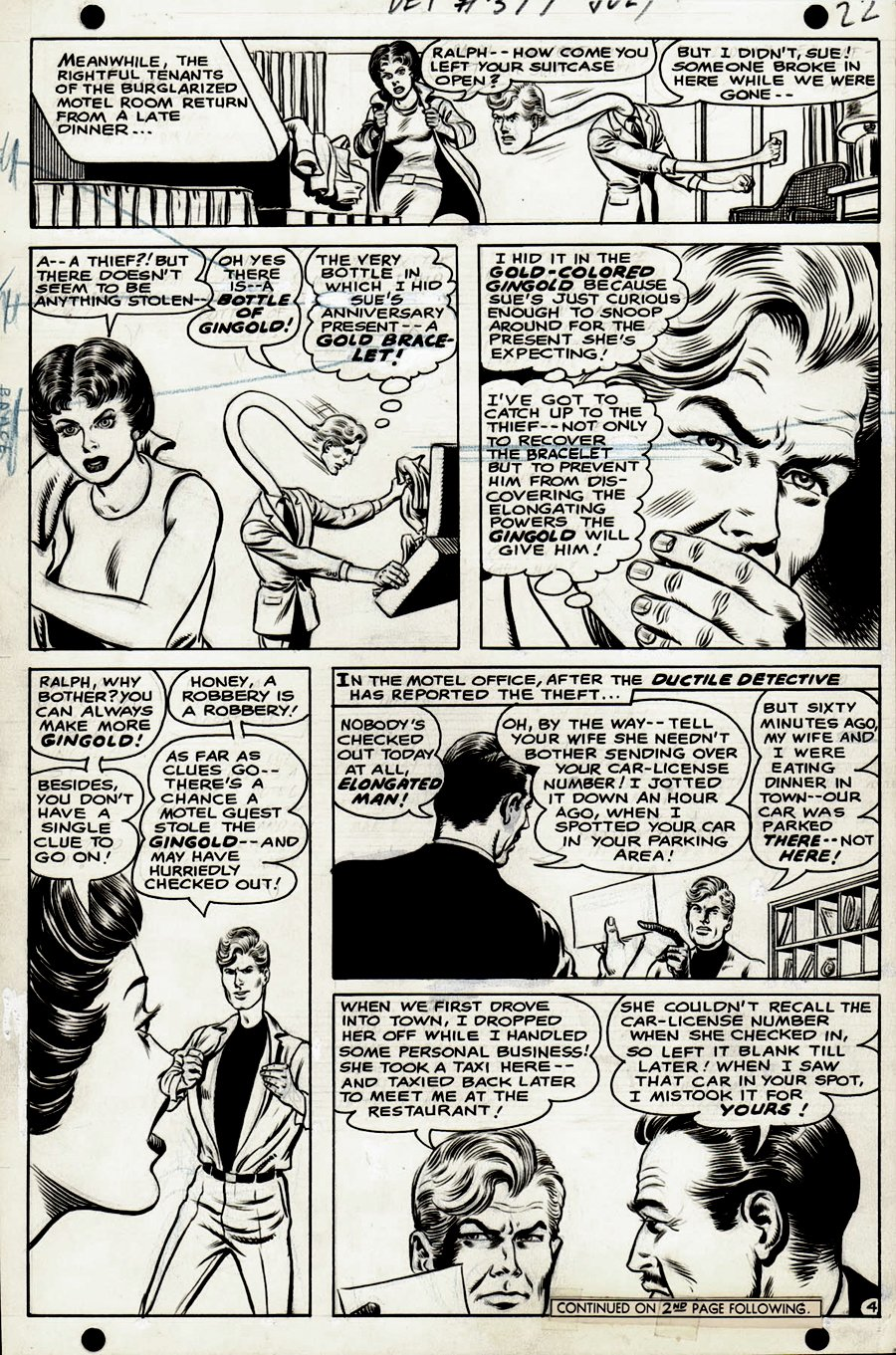 Detective Comics #377 p 4 (1968)
