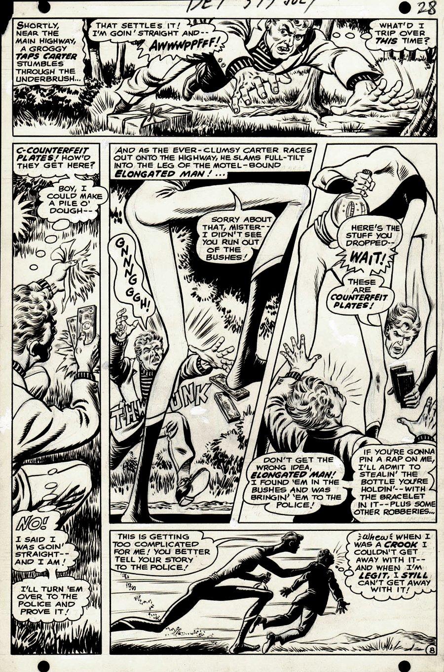 Detective Comics #377 p 8 (1968)