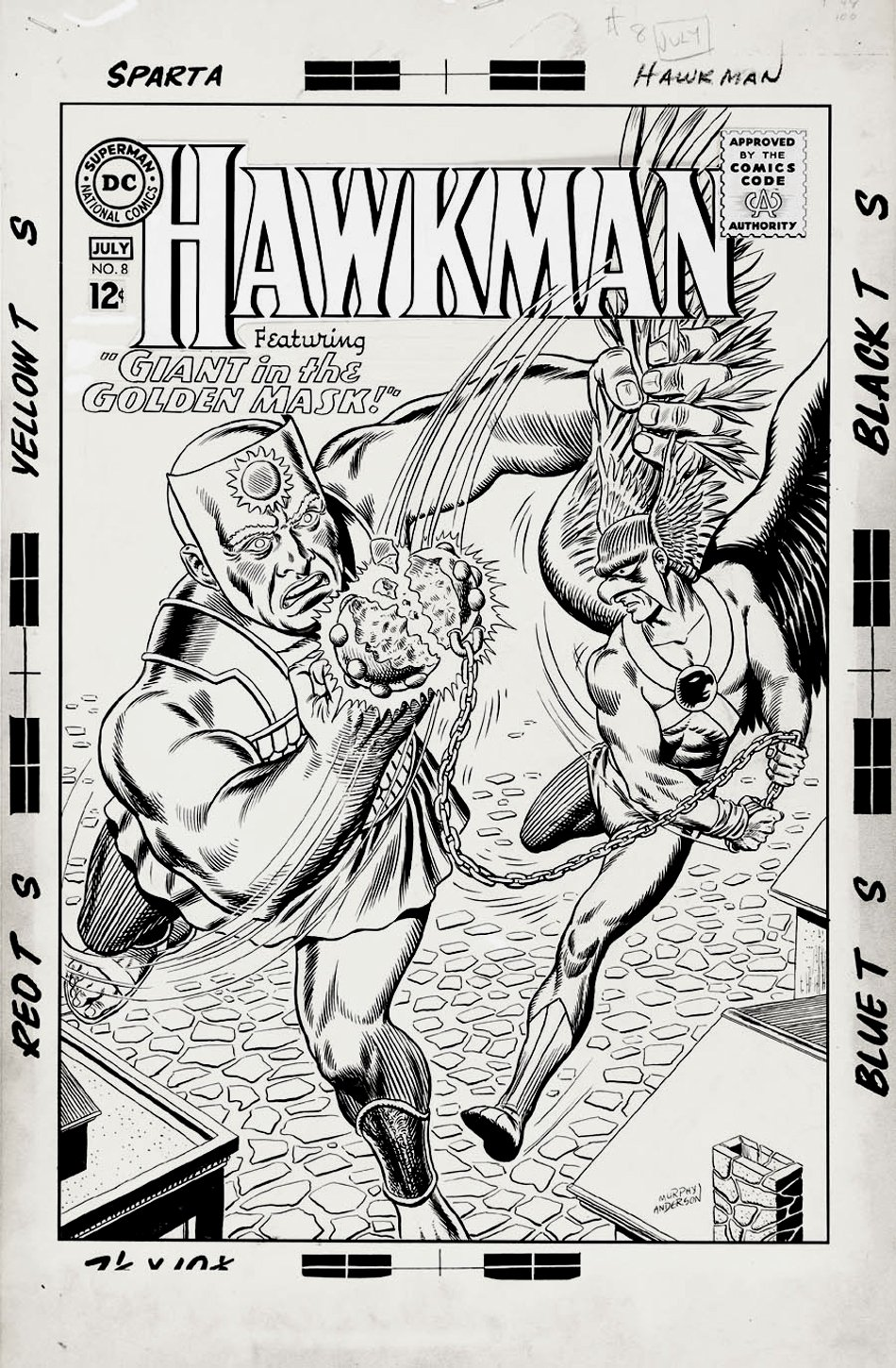 Hawkman #8 Cover (Large Art) 1965