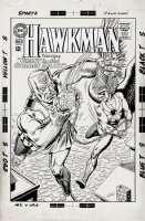 Hawkman #8 Cover (Large Art) 1965 Comic Art