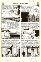 House of Mystery Issue 37 Page 6 (Large Art) 1954 Comic Art