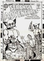 Strange Adventures #157 Cover (1963)  Page (Large Art) Comic Art