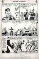 Strange Adventures #153 p 6 'Atomic Knights' (Large Art) 1963  Comic Art