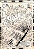 Strange Adventures #135 Cover (Large Art) 1961 Comic Art