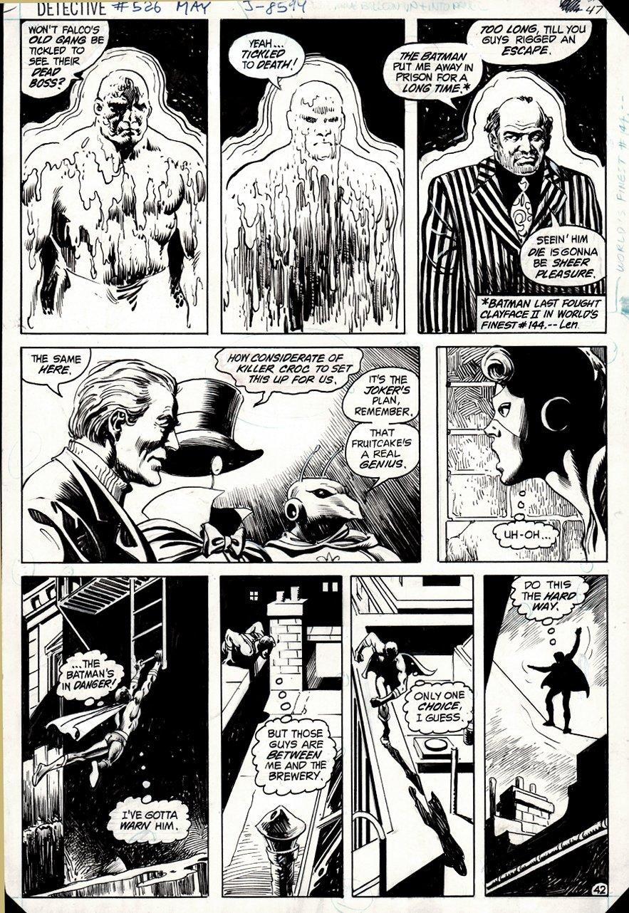 Detective Comics #526 (500th Anniversary Batman Detective Comics Issue!) 1983