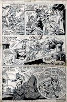 Marvel Team-Up #10 p 21 (1973) Comic Art