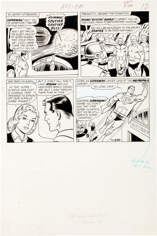 Action Comics #304 p 12 (Large Art) 1963