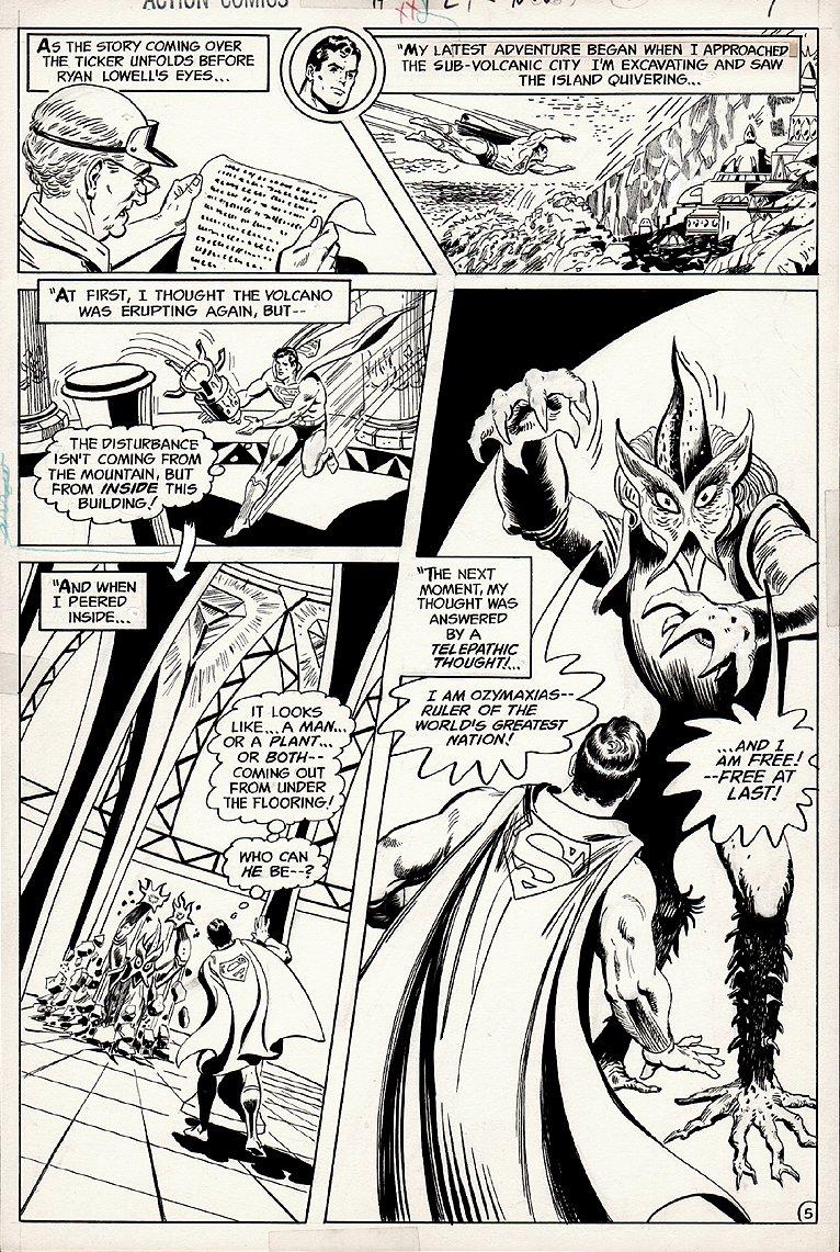 Action Comics #429 p 5 (1973)