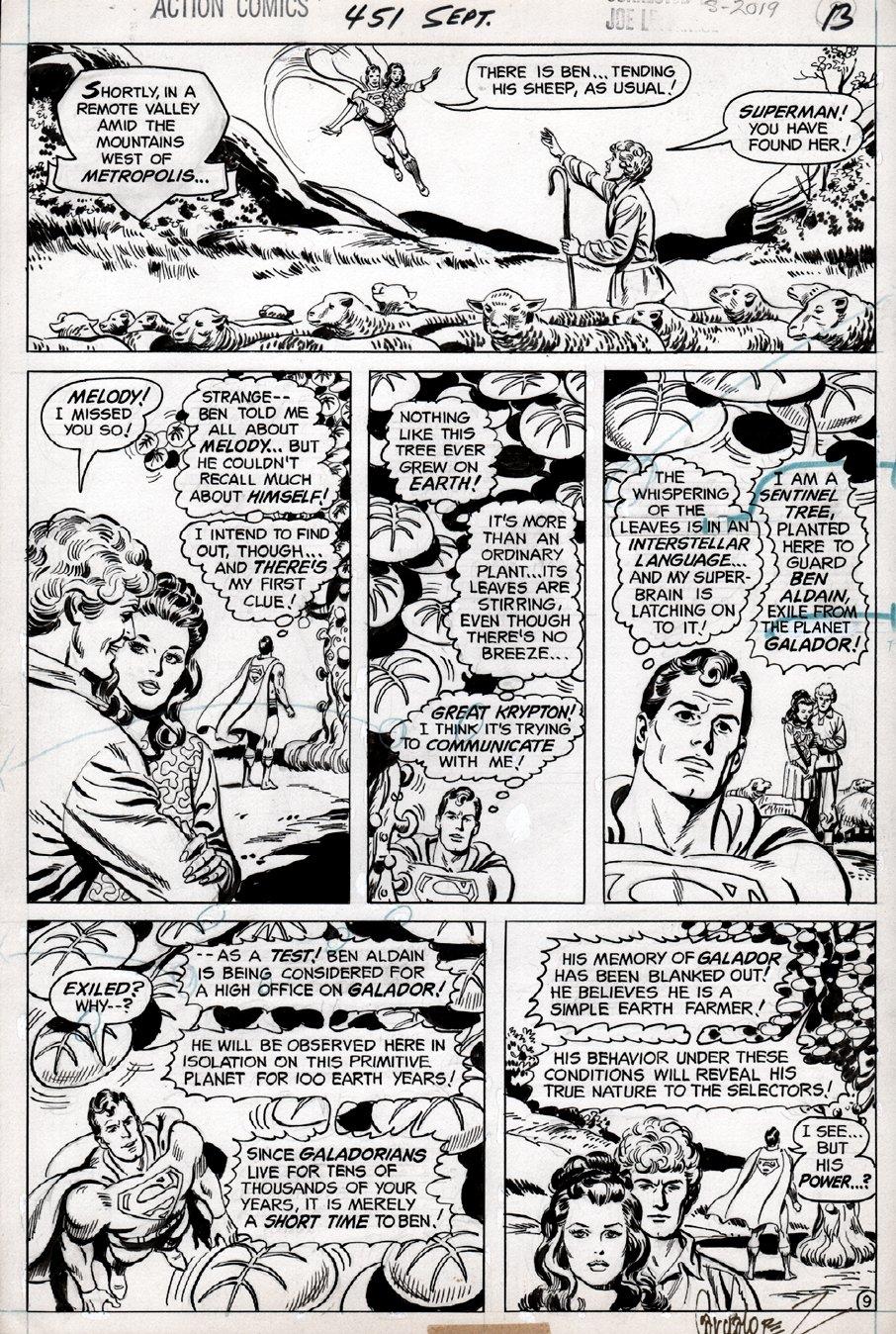 Action Comics #451 p 9 (1975)