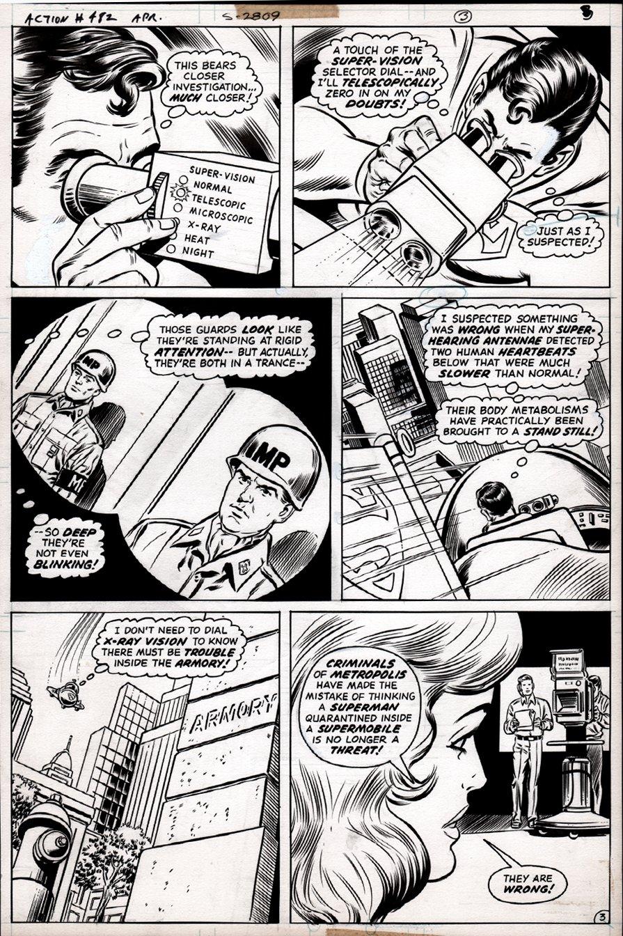 Action Comics #482 p 3 (1977)
