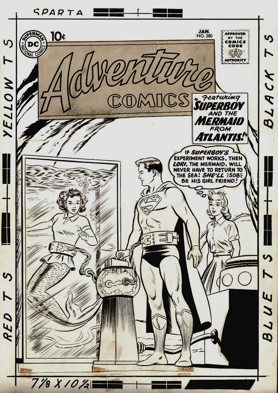 Adventure Comics #280 Cover (Large Art) 1960