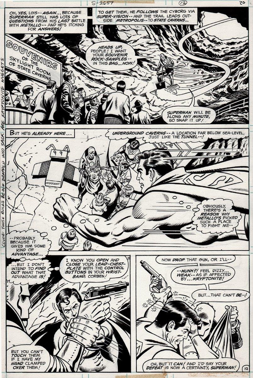 Superman #316 p 12 (1977)