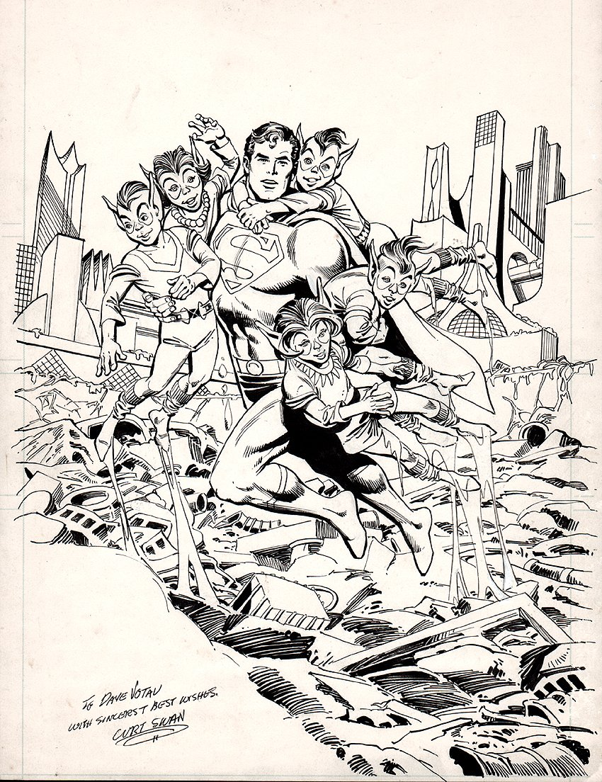 Superman Cover? Pinup? Poster Art (1982)
