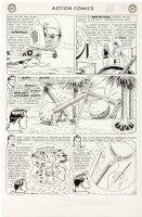 Action Comics #304 p 10 (Large Art) 1963 Comic Art