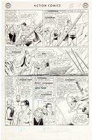 Action Comics #304 p 9 (Large Art) 1963 Comic Art