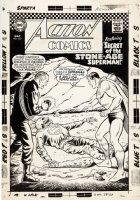 Action Comics #350 Cover (Large Art) 1966 Comic Art
