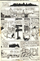 Strange Sports Stories Issue 3 Page 2 (1973) Comic Art