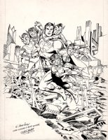 Superman Cover? Pinup? Poster Art (1982) Comic Art